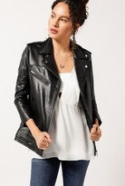 Obey Diablo Leather Jacket