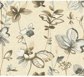 York Wall Coverings York Wallcoverings 60.75 sq. ft. Watercolors Whimsical Garden Wallpaper