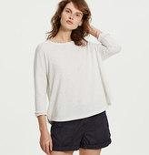 LOFT Lou & Grey Edged Sweatshirt