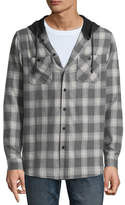 UNIONBAY Union Bay Long Sleeve Plaid Hoodie