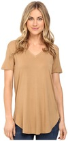 Culture Phit Preslie Cap Sleeve Modal V-Neck Top