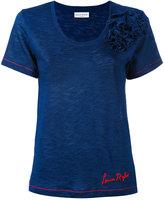 Sonia Rykiel floral T-shirt - women - Cotton - XS
