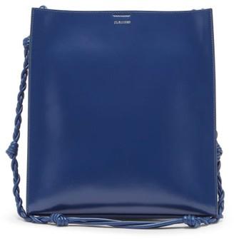 Jil Sander Tangle Medium Braided-strap Leather Shoulder Bag - Blue