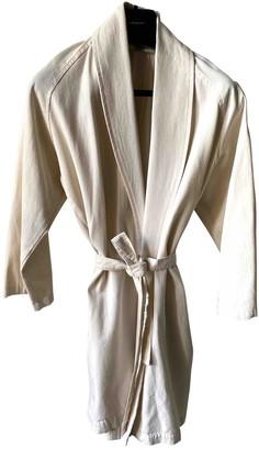Base Range Ecru Cotton Jacket for Women