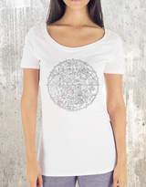 Etsy Women's TriBlend T-Shirt - Zodiac and Stars Chart - Women's American Apparel Tee