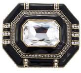 "Heidi Daus Elegant Encore"" Enamel and Crystal Pin"