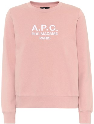 A.P.C. Tina logo cotton sweatshirt