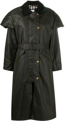 Barbour x Alexa ChungTrudie trench coat
