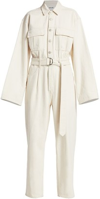 AGOLDE Tatum Long-Sleeve Jumpsuit