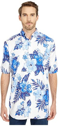 Polo Ralph Lauren Big & Tall Big Tall Short Sleeve Classic Fit Oxford (RL Vintage Hibiscus) Men's Short Sleeve Button Up