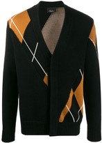 3.1 Phillip Lim argyle V-neck cardigan