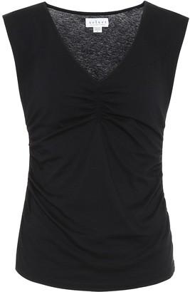 Velvet Jordan stretch-cotton tank top