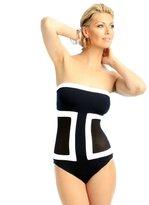 Anne Cole Women's Mesh'N Possible Mesh Bandeau One-Piece Swimsuit