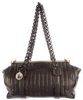 Lanvin Quilted Leather Frame Bag