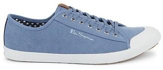 Ben Sherman Vender Script Textile Sneakers
