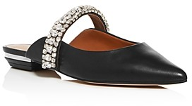 Kurt Geiger Women's Princely Crystal Pointed-Toe Mules