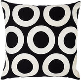 V Rugs & Home Open Circles Throw Pillow