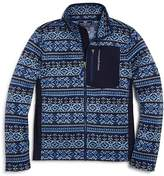 Vineyard Vines Boys' Fair Isle Fleece Jacket - Little Kid