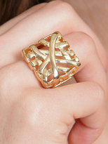 Square Weave Ring