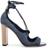 Jimmy Choo Leather Vernie Heels