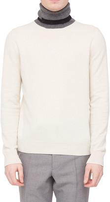 Maison Margiela Men's Striped Turtleneck Cashmere Sweater