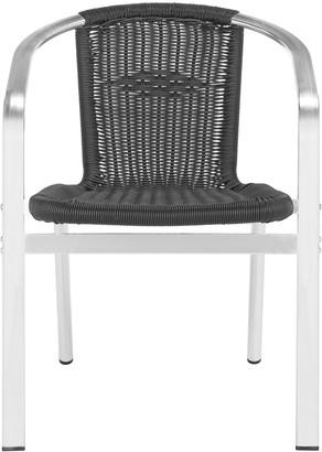 Safavieh Wrangell Indoor / Outdoor Stacking Chair 2-piece Set