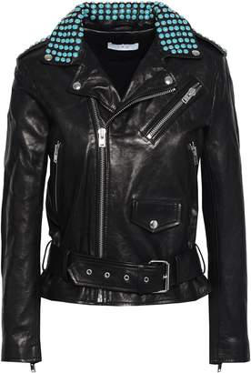 IRO Nova Studded Leather Biker Jacket