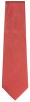 Armani Collezioni Solid Ribbed Tie