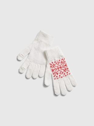Gap Fair Isle Gloves