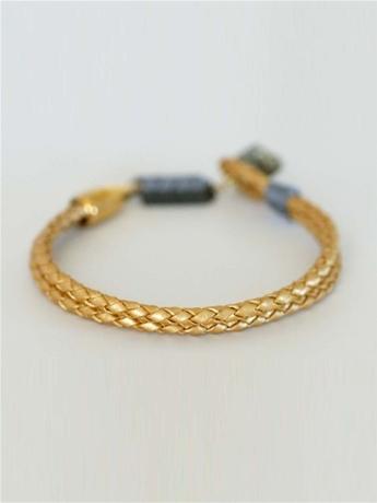 Kris Nations Mesilla Leather Rope Bracelet