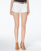 American Rag Cuffed Belted Colored Denim Shorts, Only at Macy's