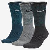 Nike Dri-FIT Topo Camo Crew Training Socks (3 Pair)