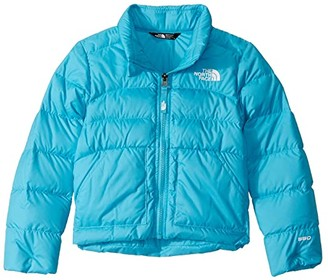 The North Face Kids Andes Down Jacket (Little Kids/Big Kids) (Turquoise Blue) Girl's Coat