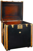Houseology Authentic Models Trunk End Table - Black