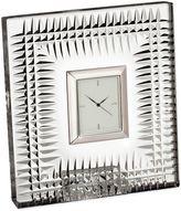 Waterford Lismore Diamond Bedside Clock