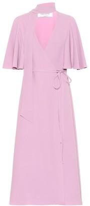 Valentino Silk crepe midi dress