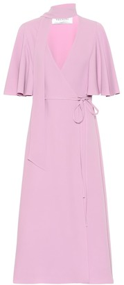 Valentino Silk crepe midi dress