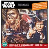 Star Wars Buffalo Games Photomosaic Hans Solo and Chewbacca 1000-Piece Jigsaw Puzzle