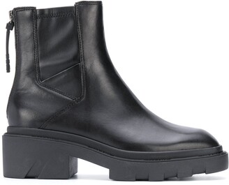 Ash Magma leather ankle boots