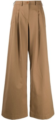 Jejia High Waisted Wide Leg Trousers