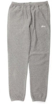 Stussy Overdye Stock Fleece Pant in Grey Heather 116301 g