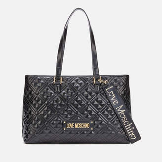 Love Moschino Women's Large Quilted Shopper