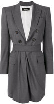 DSQUARED2 tailored mini dress - women - Polyester/Spandex/Elastane/Virgin Wool - 40
