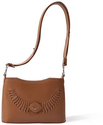 Yiy Drop Minibag & Crossbody Personalizable In Lion Brown