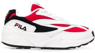Fila color blocked sneakers