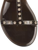 Givenchy Black jelly sandal