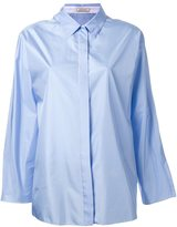 Nina Ricci boxy shirt - women - Silk - 34