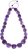 Lola Rose Quentin Purple Punch Agate Necklace