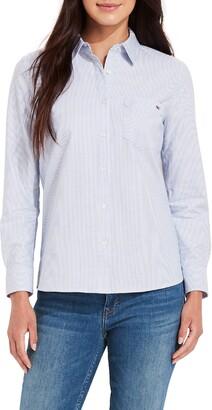 Vineyard Vines Oxford Stripe Chilmark Button-Up Shirt
