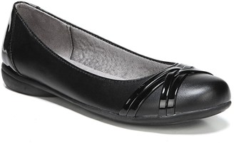 LifeStride Aliza Patent Trim Flat - Wide Width Available